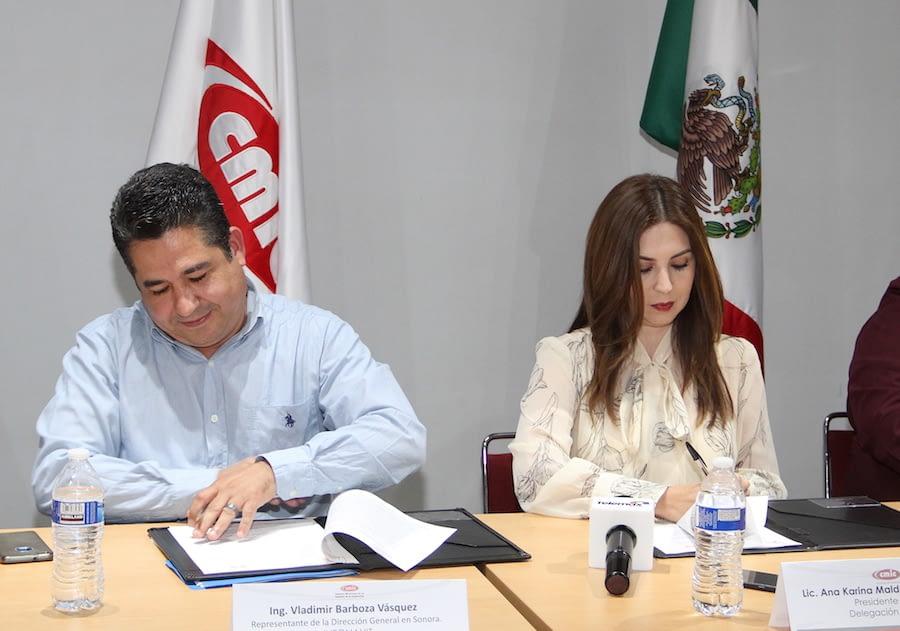 CMIC and Infonavit sign a construction agreement