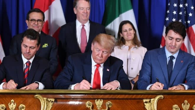 Big business sees better benefits to USMCA than small companies