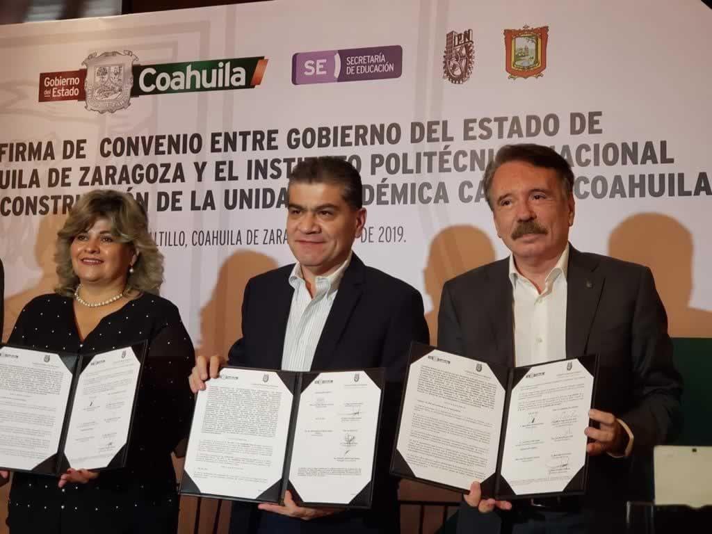 IPN arrives in Coahuila