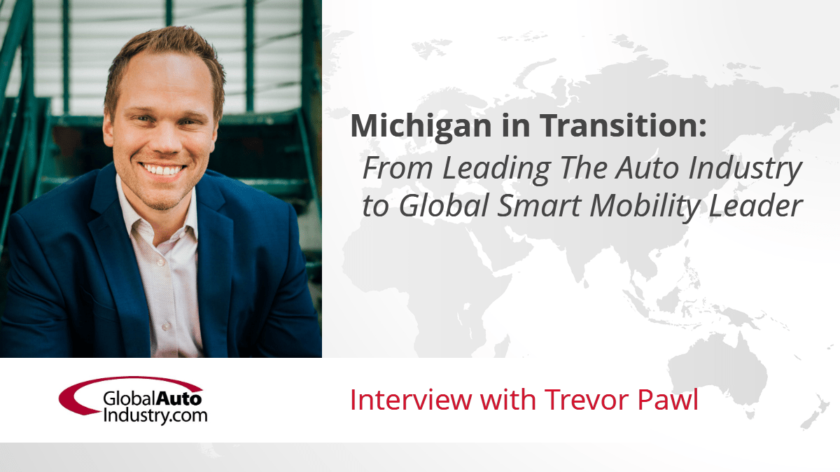Michigan in Transition: From Leading The Auto Industry to Global Smart Mobility Leader