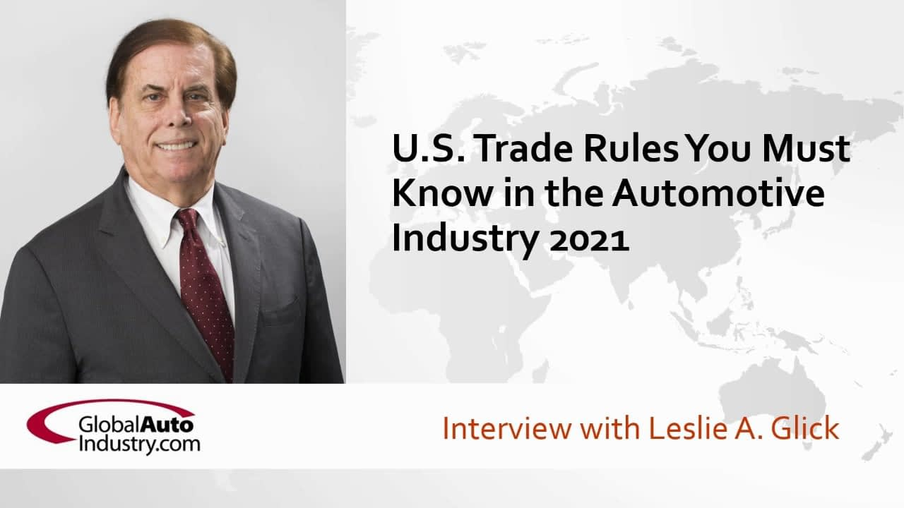 U.S. Trade Rules You Must Know in the Automotive Industry in 2021