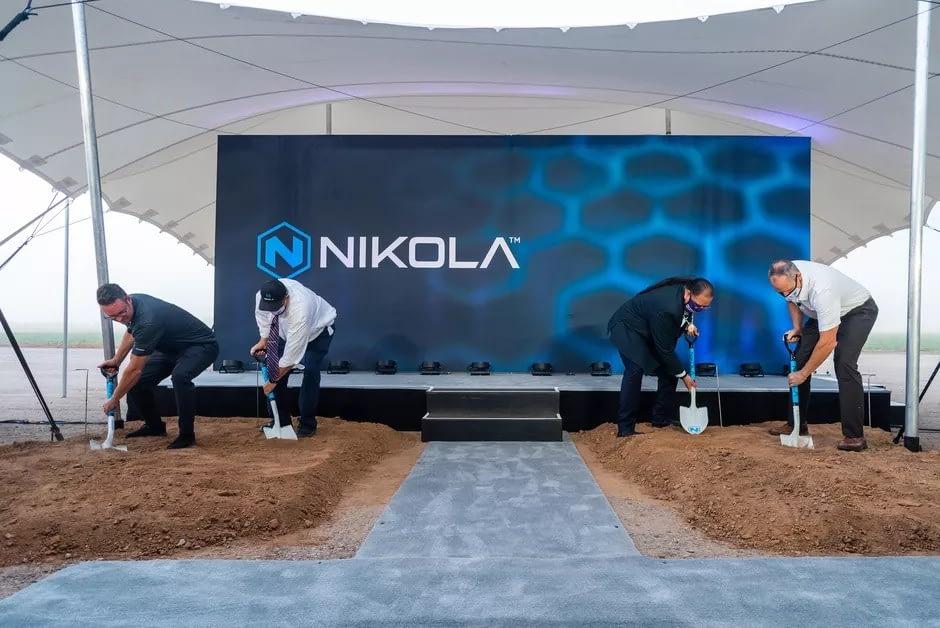 Nikola begins factory construction in Arizona