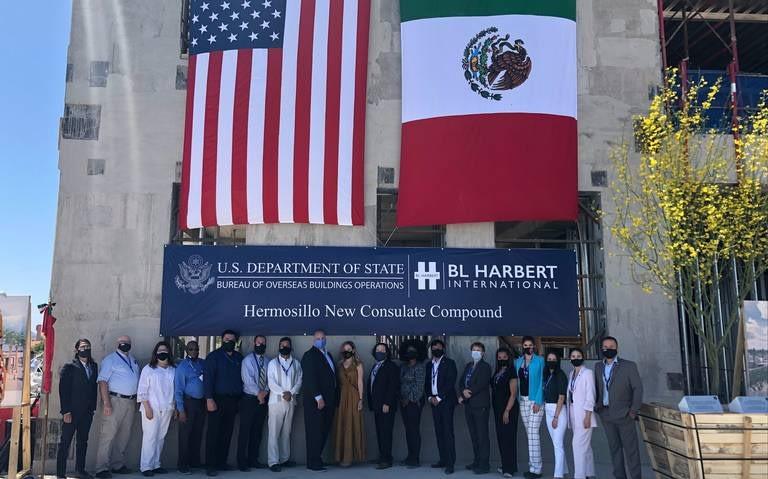 The new U.S. consulate in Hermosillo is almost done.