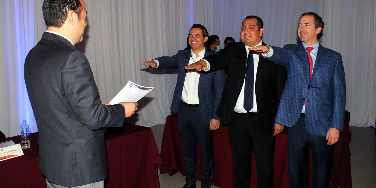 Jorge Figueroa Barrozo is the new president of Canacintra Tijuana