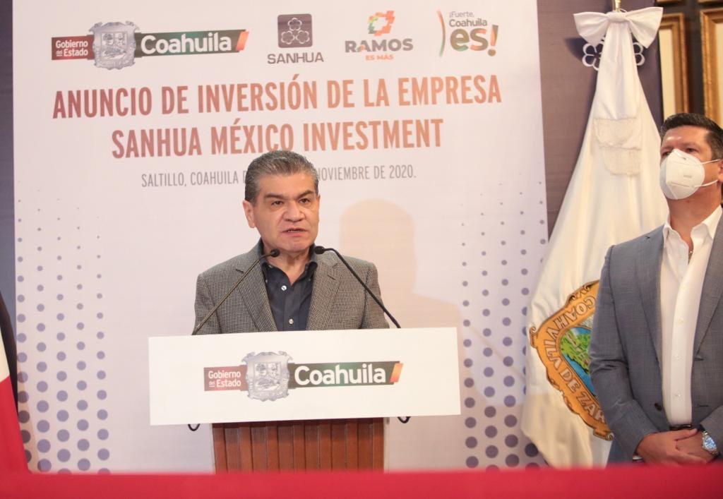Sanhua to invest US$180 million in Coahuila