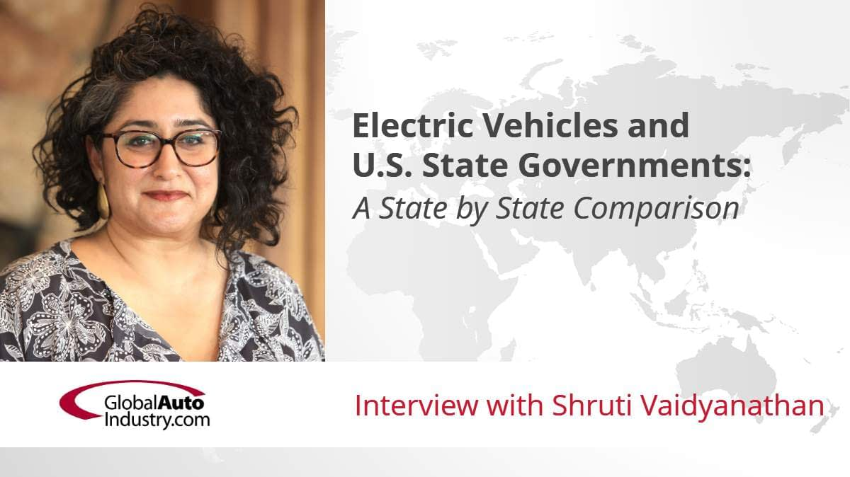 Electric Vehicles and U.S. State Governments: A State by State Comparison