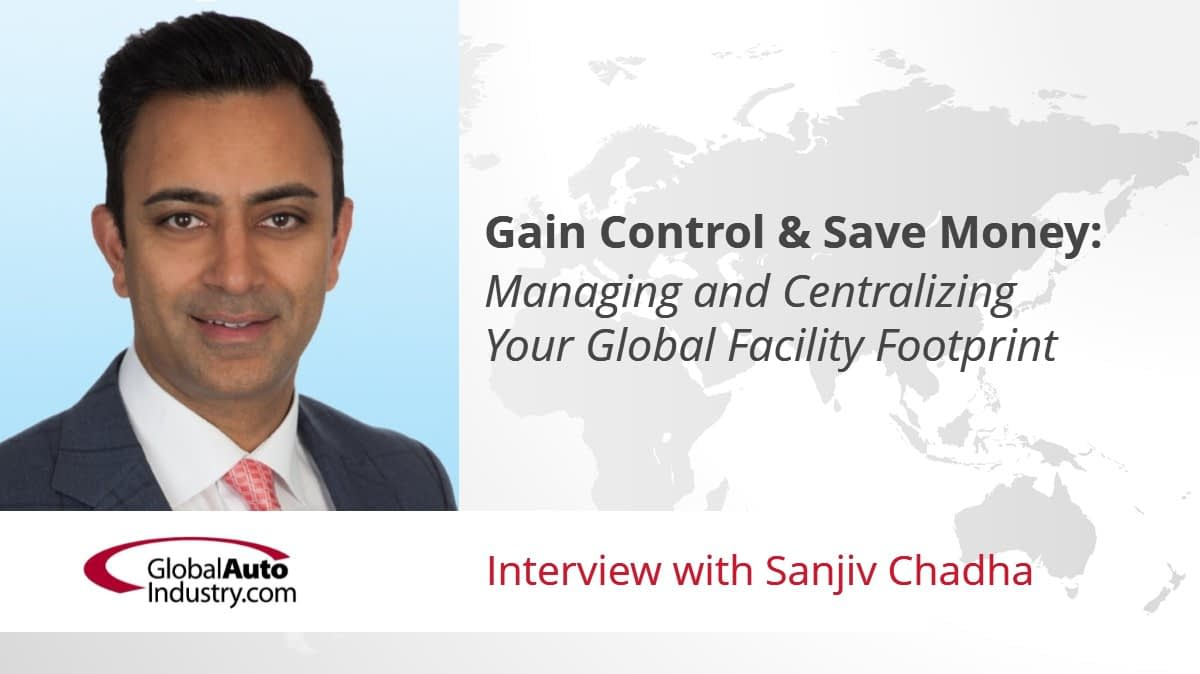Gain Control & Save Money: Managing and Centralizing Your Global Facility Footprint