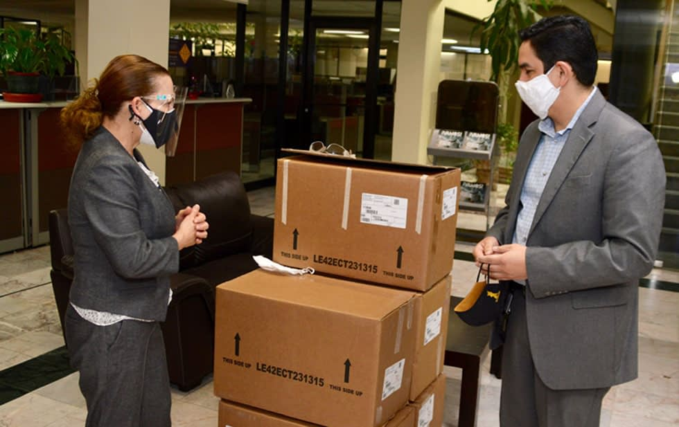 Lear has donated 600,000 masks in Chihuahua