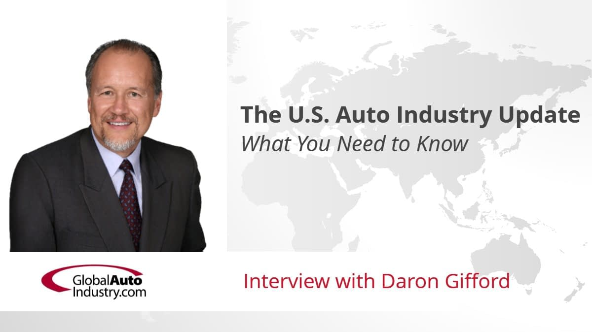The U.S. Automotive Industry Update: What You Need to Know