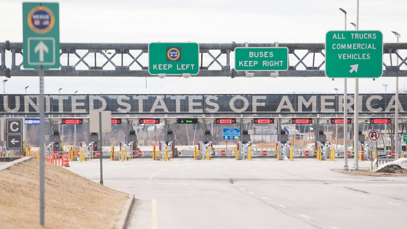 Border cities call for non-essential crossings to be opened for the economy to improve