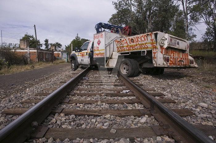 Railroad blockades caused millionaire losses in Nuevo Leon