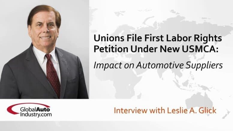 Unions File First Labor Rights Petition Under New USMCA: The Impact on Automotive Suppliers