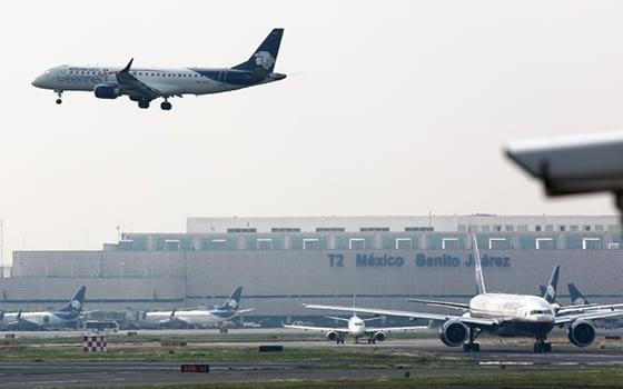 Juárez air traffic improves in February