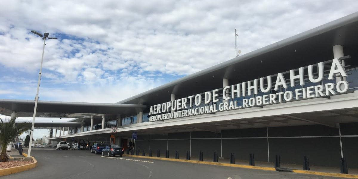 Chihuahua airport increases air traffic by 66.6%.