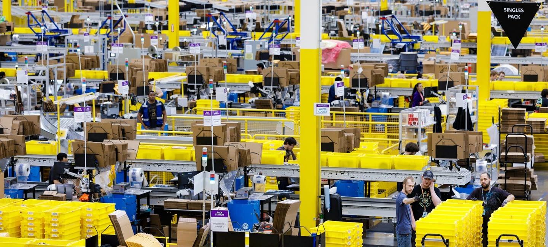 Amazon Facility Nears Completion