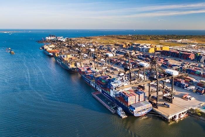 International trade at Texas ports falls sharply