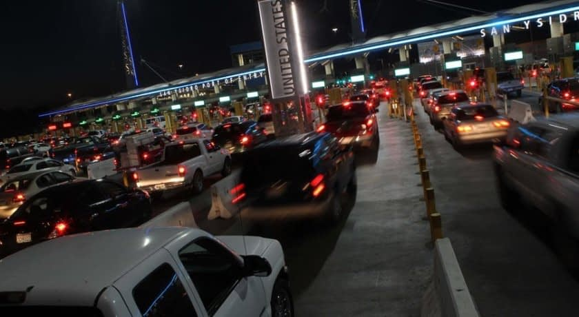 All U.S. Inbound Vehicles to be Scanned at POEs