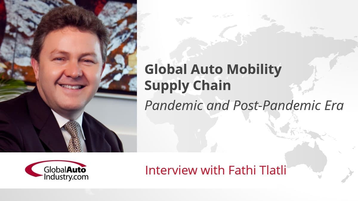 Global Auto Mobility Supply Chain: Pandemic and Post-Pandemic Era