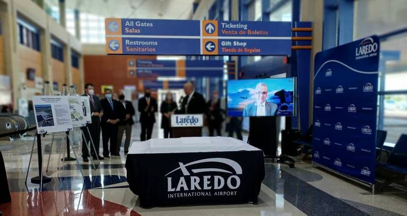 US$27 million to be invested in Laredo International Airport