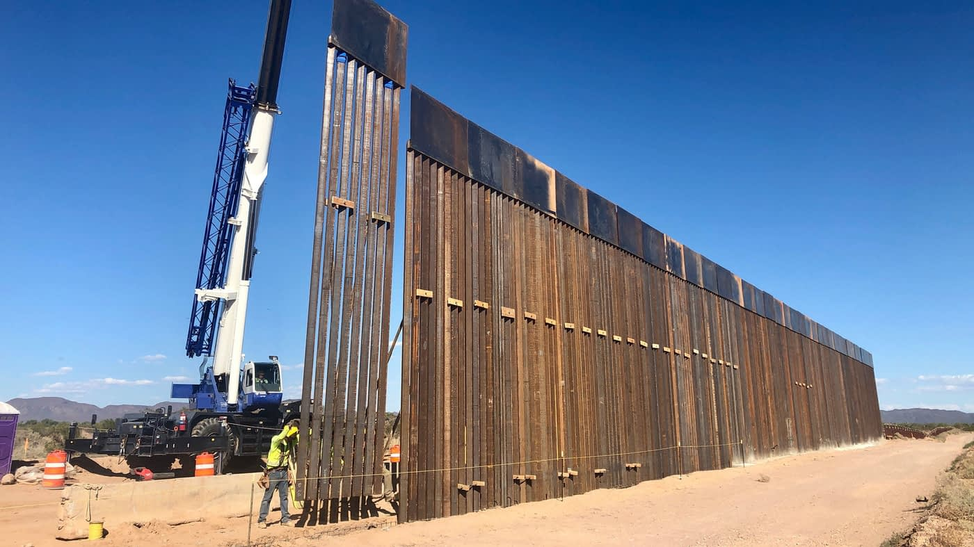 El Paso getting 35 miles of new, upgraded border wall