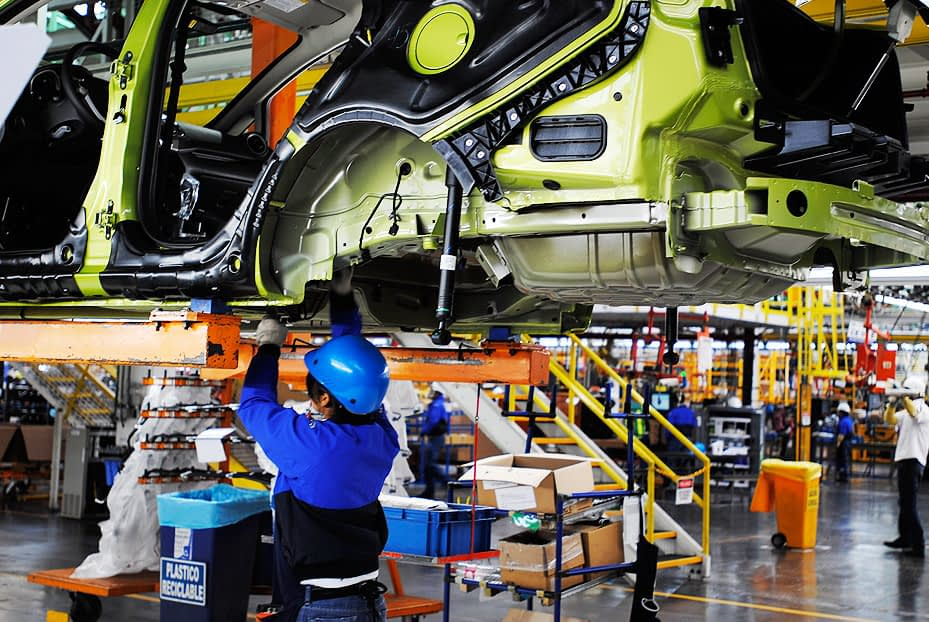 Manufacturing staff in Chihuahua fell by 5.8%