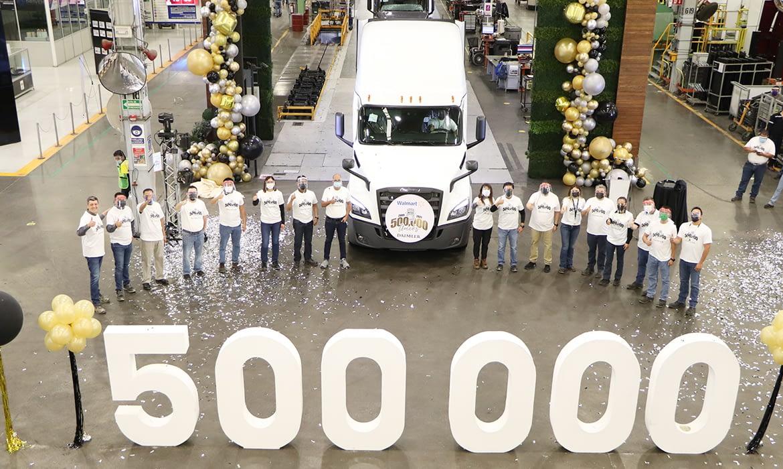 Daimler Trucks Mexico reached its 500,000th unit in Saltillo