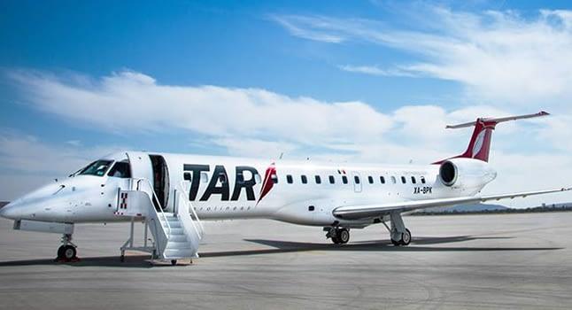TAR reactivates flights to Chihuahua