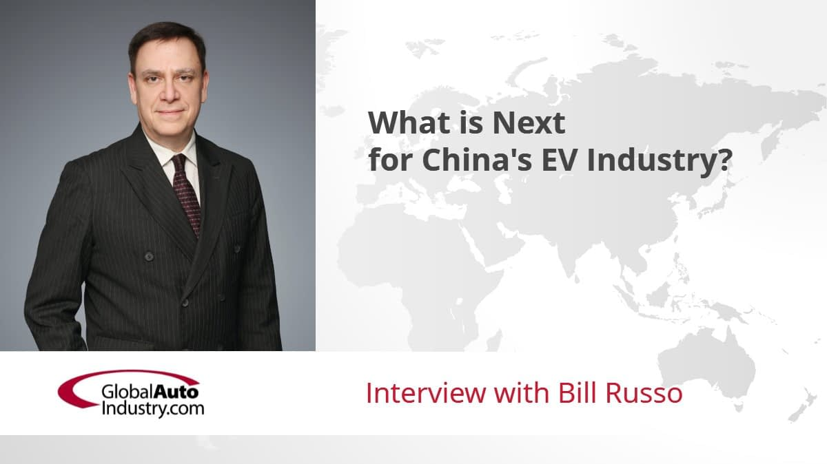 What is Next for China's EV Industry?