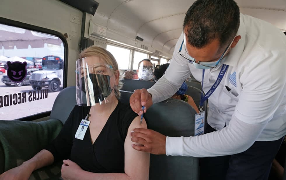 U.S. donates 50,000 vaccines to Juarez maquilas