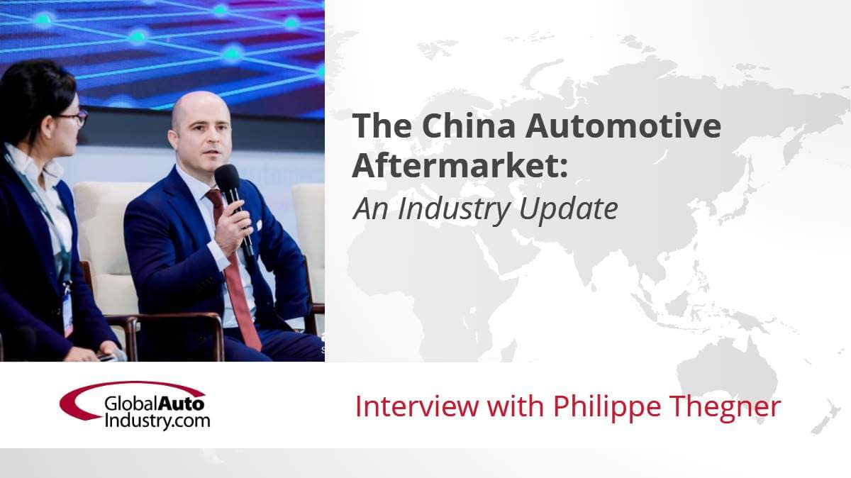 The China Automotive Aftermarket: An Industry Update