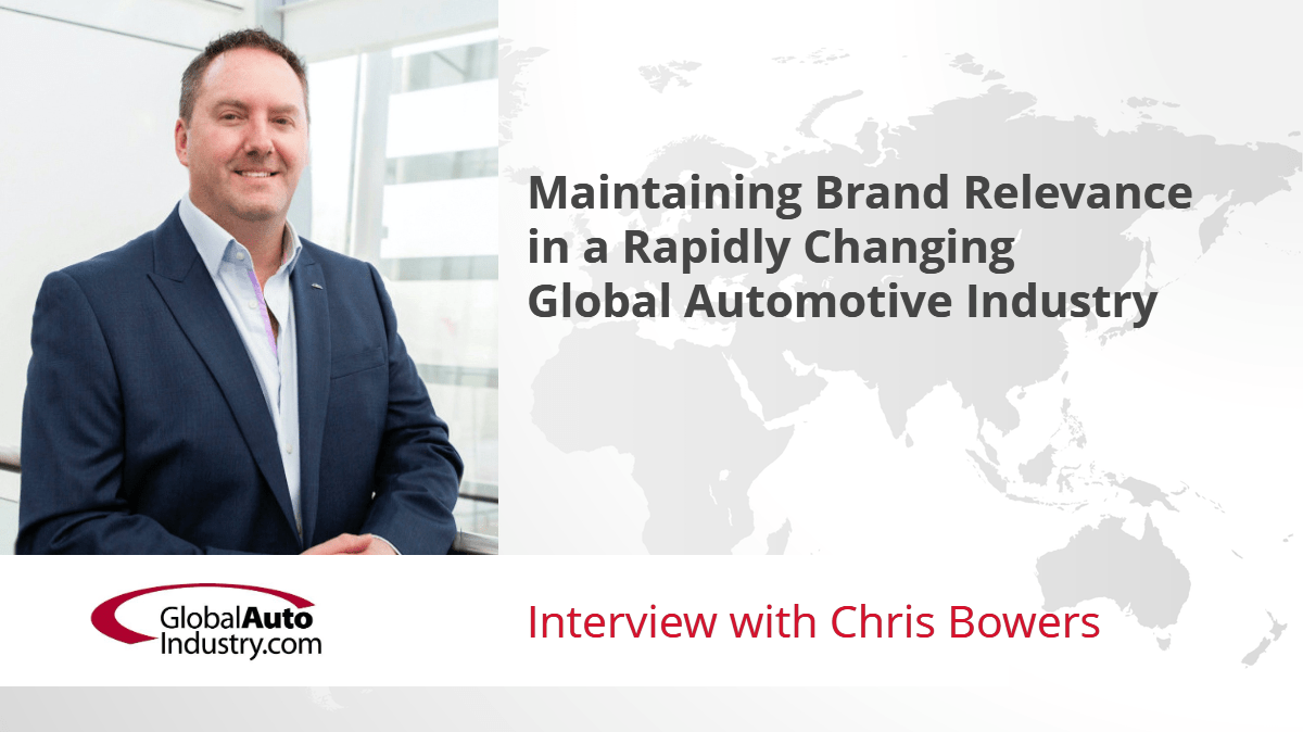 Maintaining Brand Relevance in a Rapidly Changing Global Auto Industry